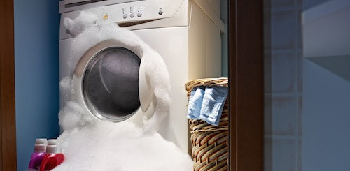 Течёт стиральная машина снизу