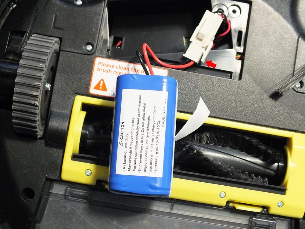 Батарея робота-пылесоса