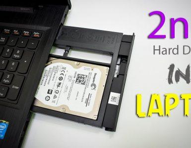 жёсткий диск вместо DVD в ноутбуке
