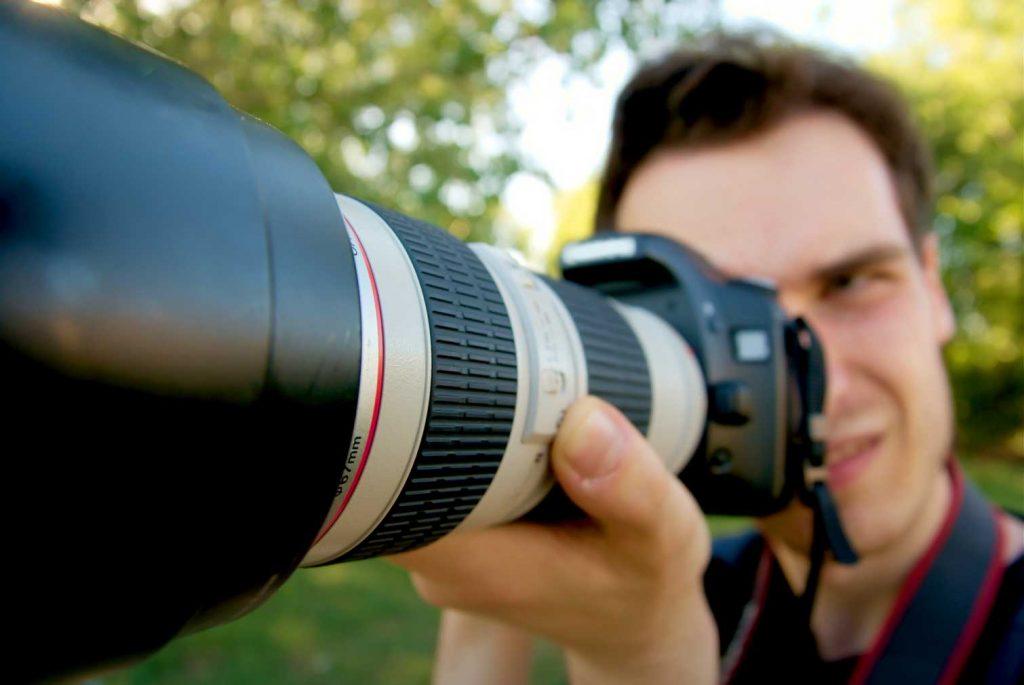 зум в фотоаппарате