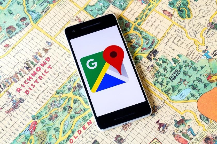 Поиск посредством Google Maps