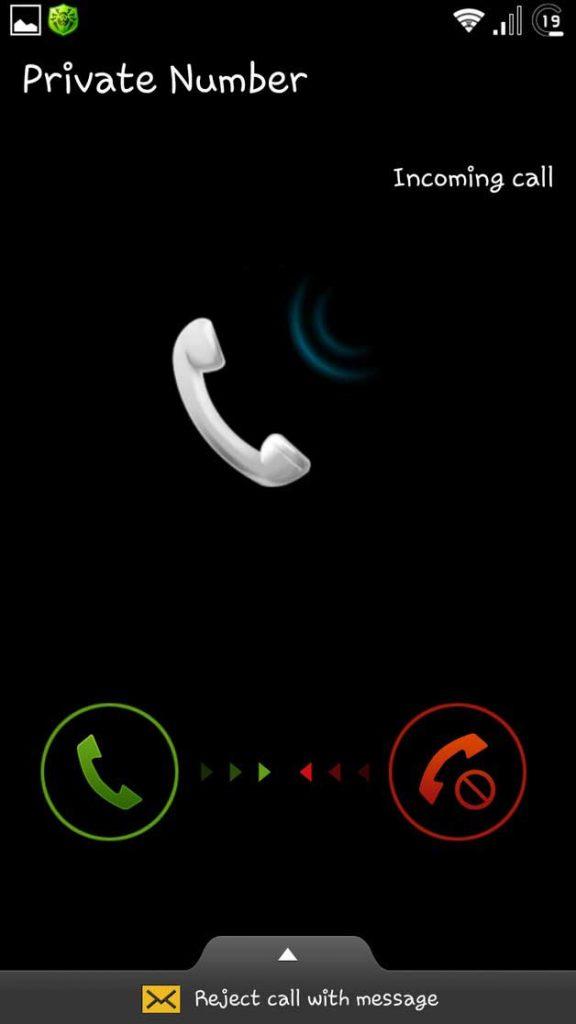 Обход блокировки через звонок на смартфон