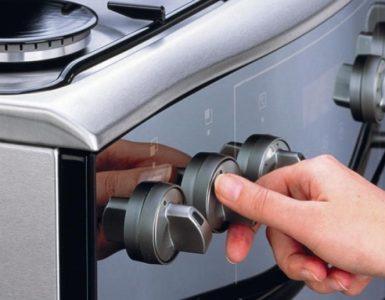 Как снять ручки с газовой плиты