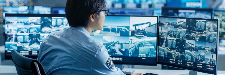 Охранные камеры наблюдения