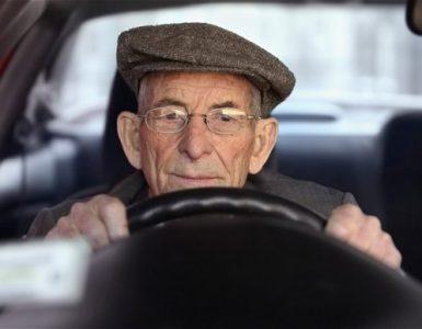 Старый водитель
