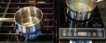 индукционная плита или газовая