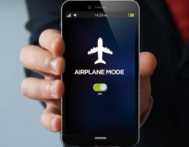 режим полёта в смартфоне