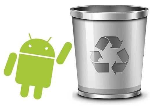 Как очистить корзину в смартфоне