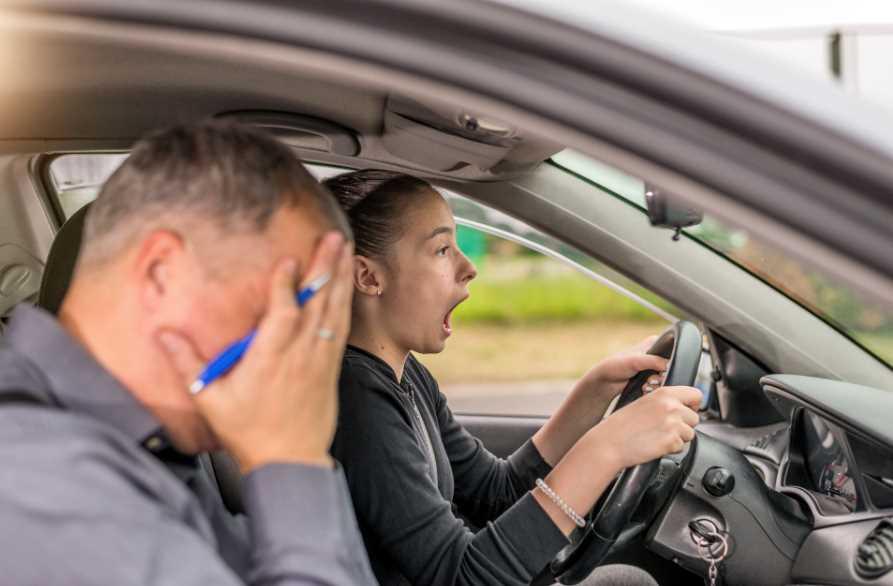 Сложности, с которыми сталкивается начинающий водитель