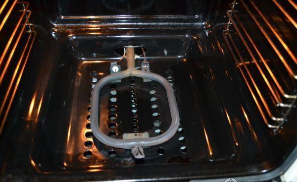 как включить духовку в газовой плите