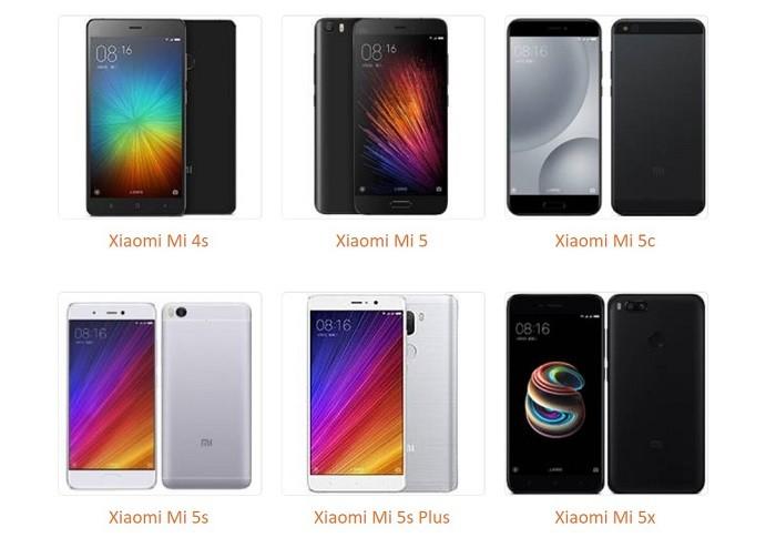 Линейка смартфонов Xiaomi: описание и характеристики всех моделей