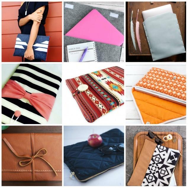 Выкройки сумки для ноутбука и как правильно ее пошить своими руками