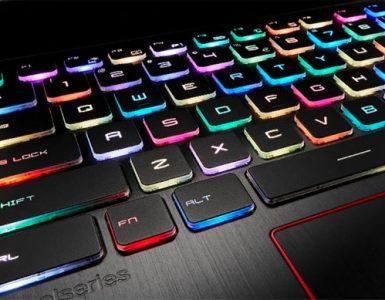 Как на ноутбуке можно включить подсветку клавиатуры и поменять цвет