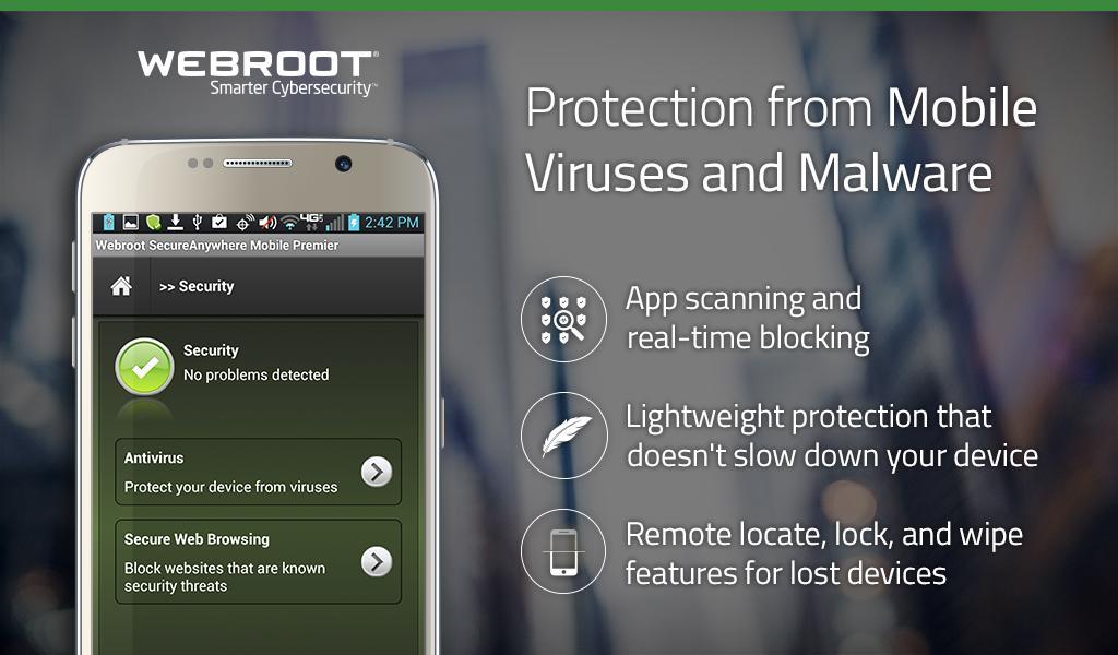 Webroot Mobile Security