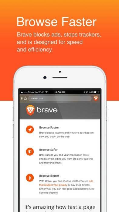 браузер Brave мобильный