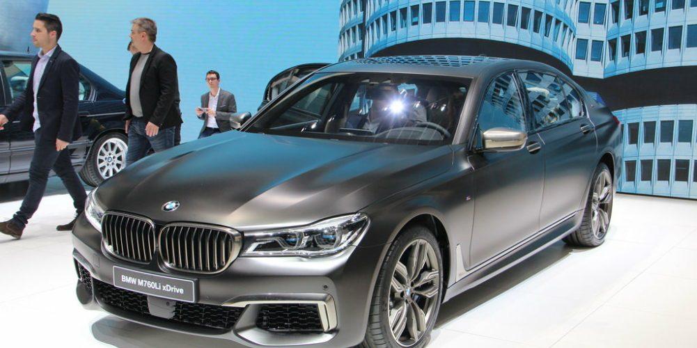 Описание и технические данные BMW M760Li xDrive с мотором V12, обзор модели