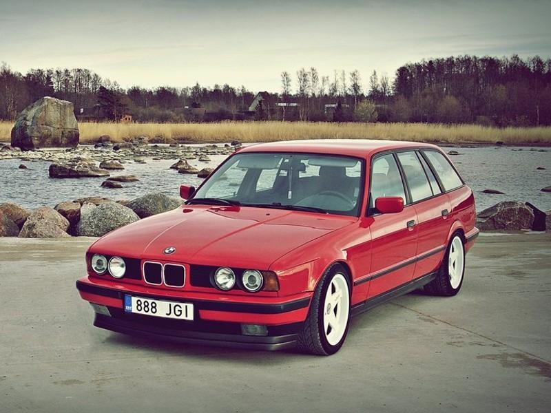 Описание и внешний вид BMW 520i серии e34, ее технические характеристики