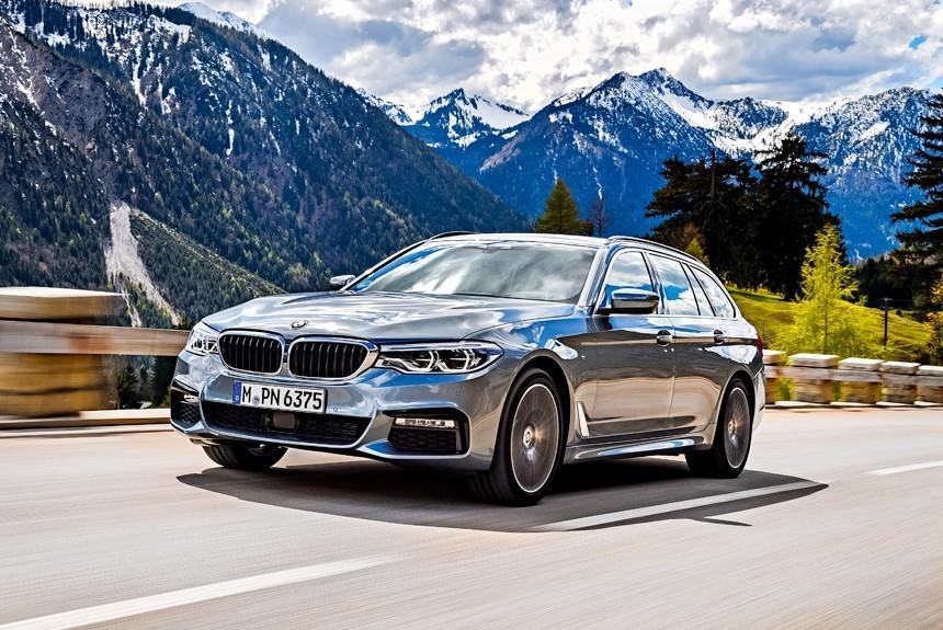 Описание и внешний вид авто BMW серии 520d, технические характеристики