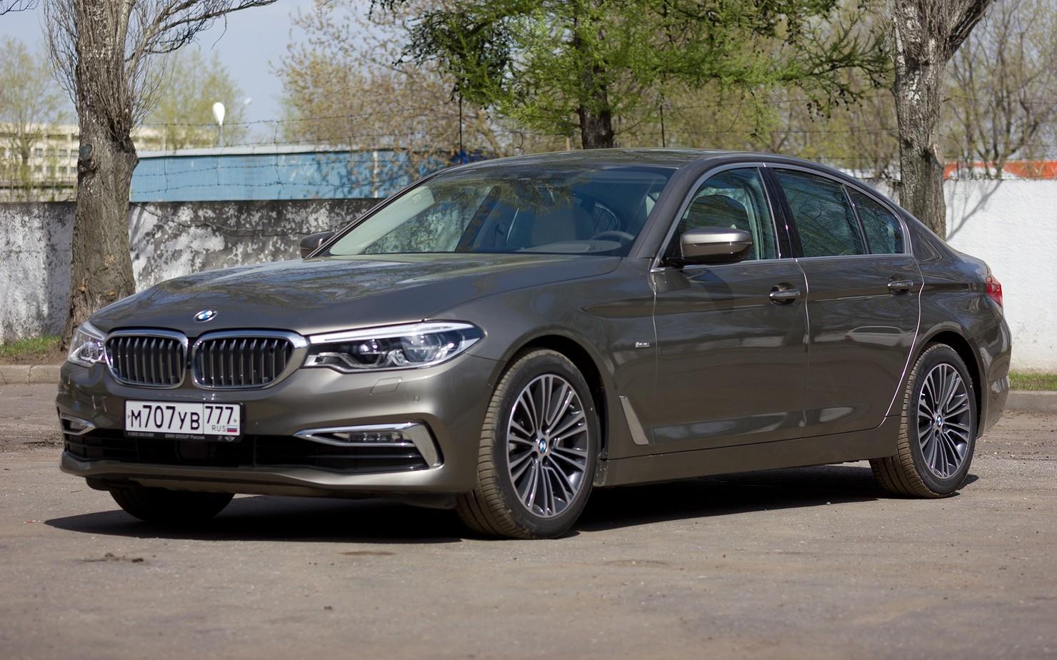 Описание и внешний вид BMW 520d модели xDrive, технические характеристики