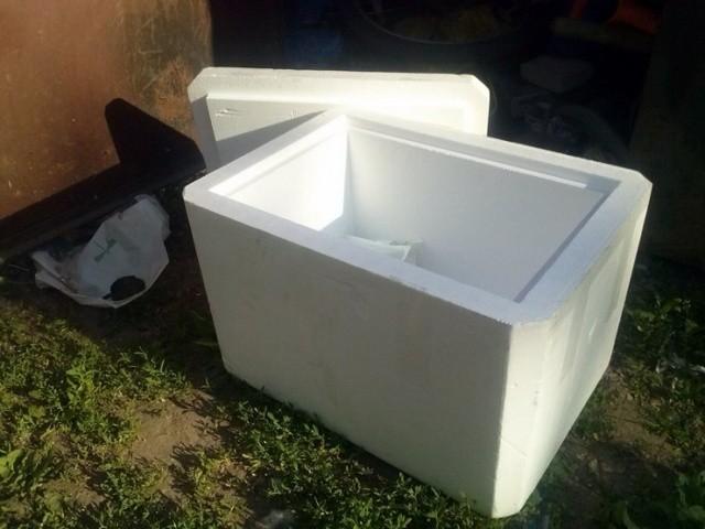 холодильник своими руками из пенопласта
