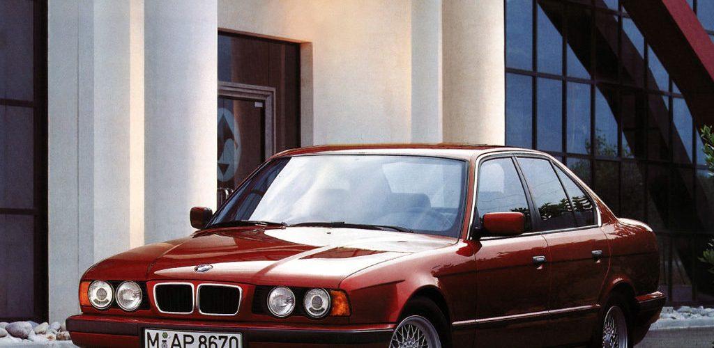 Описание и внешний вид BMW 525 в кузове E34 технические данные и параметры
