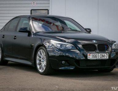 Описание и внешний вид BMW серии 525d, технические данные и параметры