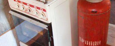 Почему может коптить газовая плита от газового баллона и что нужно делать