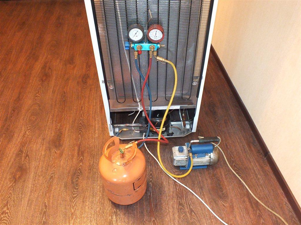 можно ли заправить инверторный холодильник по давлению