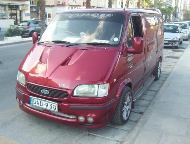 тюнинг форд транзит