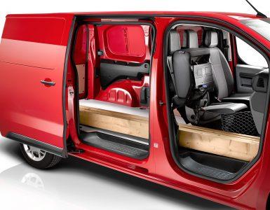 Размеры грузового отсека и габариты Citroen Jumpy, параметры багажника