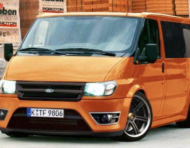 Варианты тюнинга Форда модели Транзит и краткая характеристика автомобиля